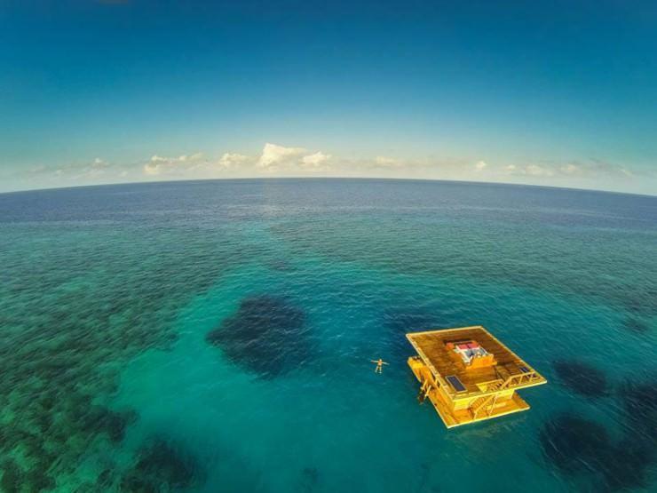 اقامت منحصر به فرد در هتل زیر آب در Zanzibar