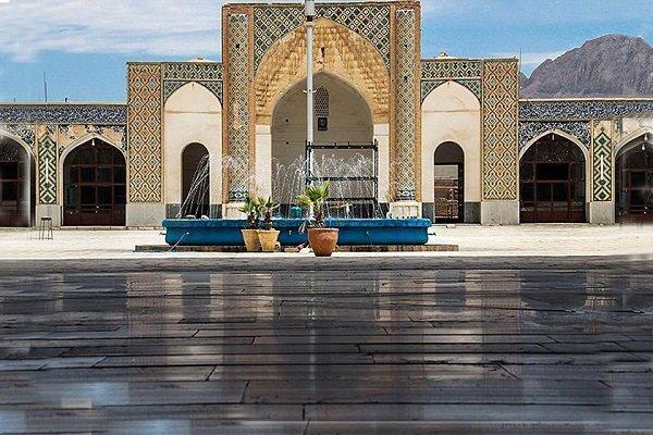 مرمت مسجد امام خمینی کرمان آغاز شد