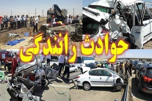واژگونی خودرو در محور آذرشهر- تبریز