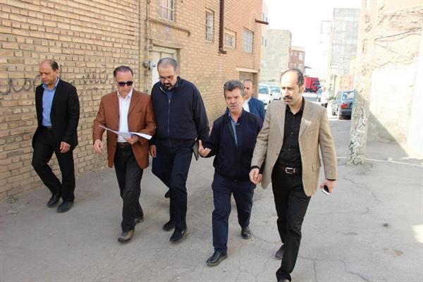 خانه های منطقه بازارچه سرخاب تبریز تخریب نمی گردد