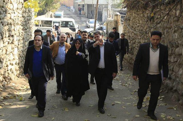 تبدیل رود دره های غرب تهران به تفرجگاه