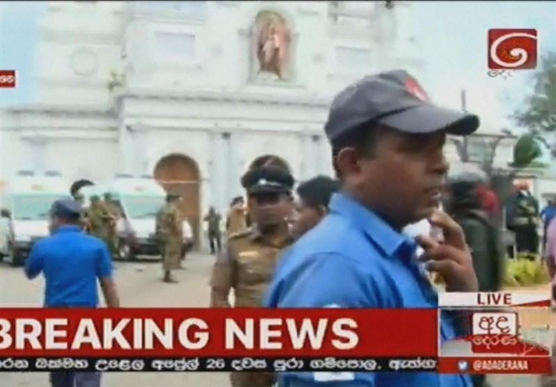 160 کشته و 300 زخمی در سلسله انفجارها در سریلانکا