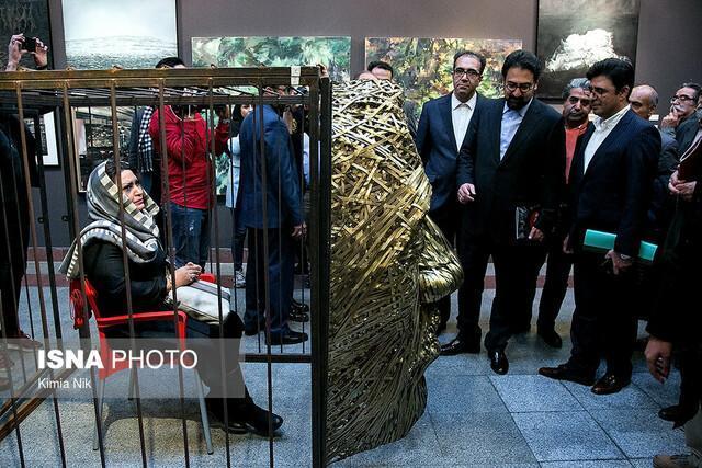 فضای جشنواره تجسمی فجر امسال بازتر بود
