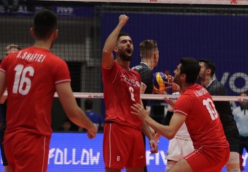 لیگ ملت های والیبال ـ ارومیه، پیروزی دلچسب سروقامتان تیم ملی والیبال در ایران ، کانادا هم حریف شاگردان کولاکوویچ نشد