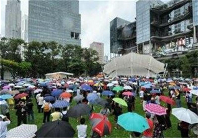 راهپیمایی گسترده مردم سنگاپور در اعتراض به سیاست های دولت
