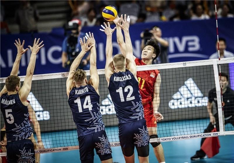 والیبال انتخابی المپیک، نخستین پیروزی به نام چین ثبت شد