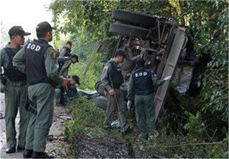 حمله افراد مسلح به یک پایگاه نظامی در تایلند 19 کشته برجای گذاشت