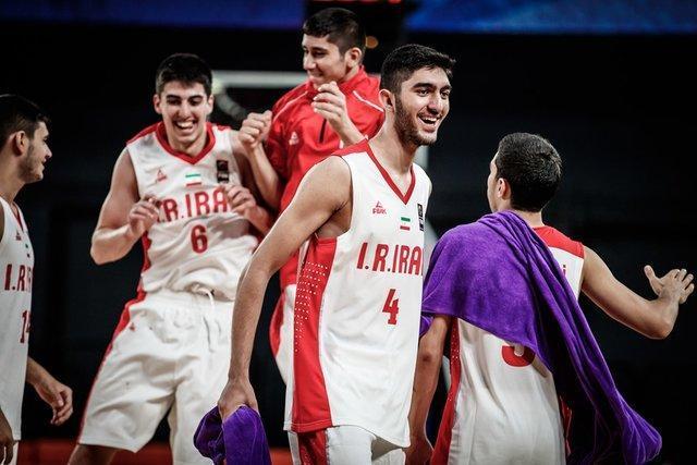 اولین پیروزی تیم ملی بسکتبال جوانان ایران در تورنمنت تایلند