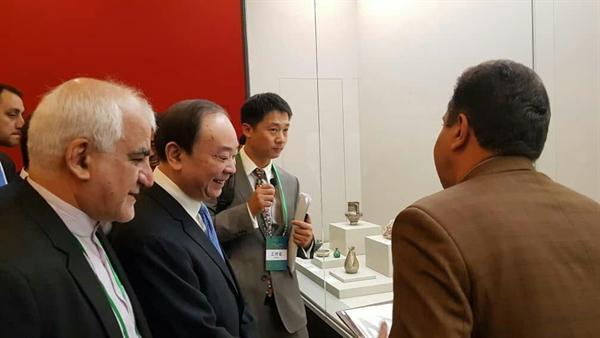 نمایشگاه شکوه تمدن های آسیایی در موزه ملی چین گشایش یافت
