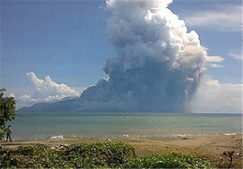 5 کشته در فوران آتشفشان در اندونزی