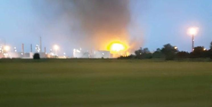 وقوع انفجار مهیب در یک پالایشگاه نفت در ایتالیا