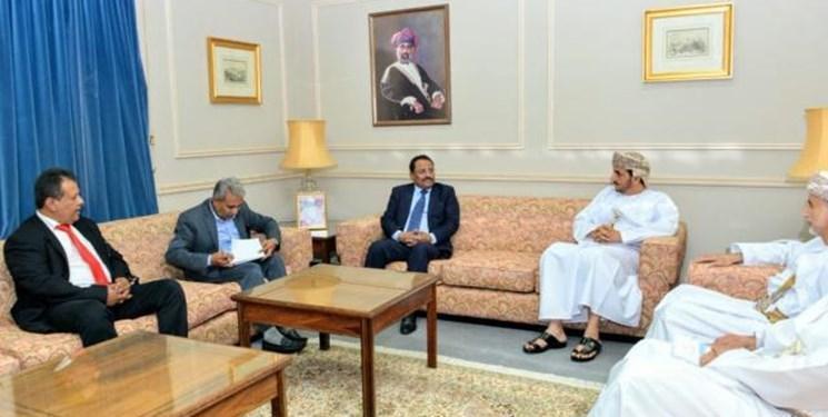 دیدار وزیر دولت هادی با معاون وزیر خارجه عمان