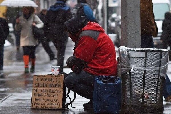 مرگ افراد بی خانمان در انگلستان به بالاترین سطح خود رسید