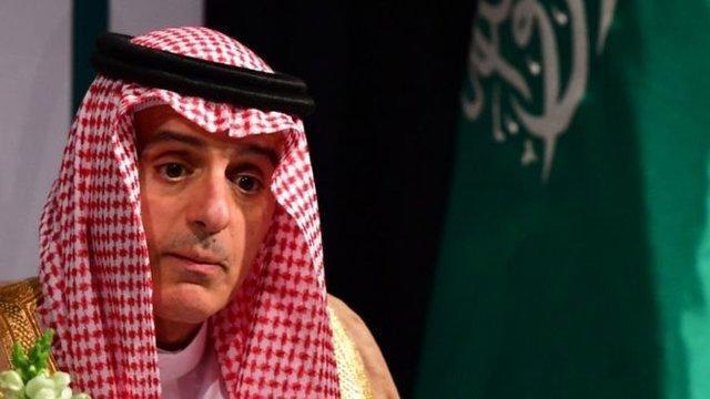 الجبیر:قطر میلیون ها دلار به بعضی گروه های منطقه ای داده است