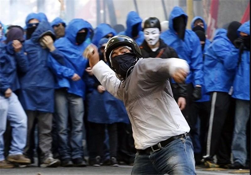 اعتراض کارکنان خدمات عمومی ایتالیا به سیاست های ریاضتی