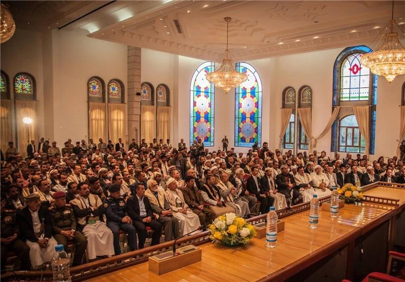 هیئتی از عمان با رئیس کمیته عالی انقلابی یمن دیدار کرد