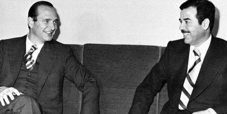 رشوه صدام به ژاک شیراک، علت عدم مشارکت فرانسه در جنگ عراق