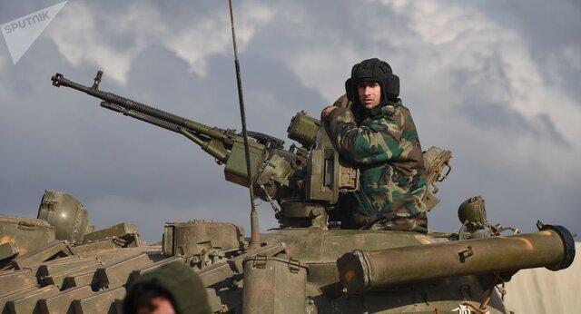 استقرار ارتش سوریه در نزدیکی شهر منبج شمال حلب