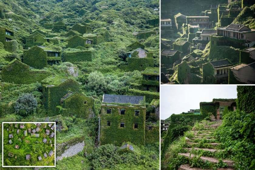 روستایی در چین که مقهور طبیعت شد