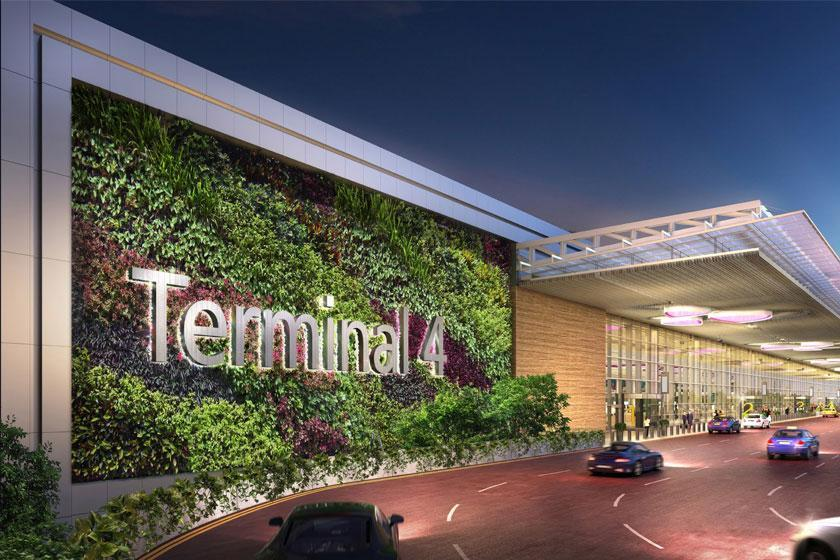 تصاویر دیدنی از پایانه 4 فرودگاه چانگی سنگاپور