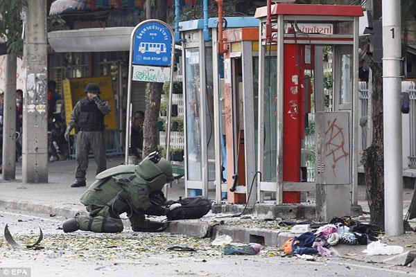 یکی از مظنونان حادثه بمبگذاری معبد بانکوک دستگیر شد