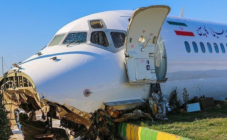 روایت دو شاهد عینی از حادثه هواپیمای تهران - ماهشهر