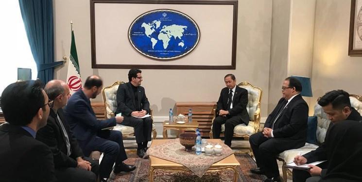 گفتگوی موسوی و مارتین مِنِز در تهران