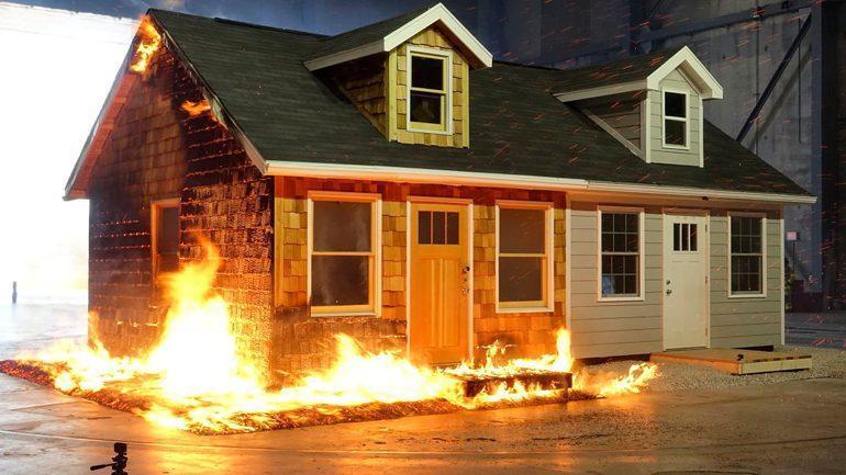 چگونه می توان خانه ای مقاوم در برابر آتش ساخت؟
