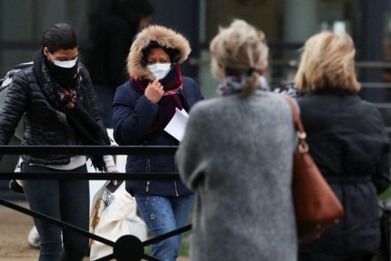 خبرنگاران فرانسه مرگ سه نفر دیگر را بر اثر کرونا تایید کرد