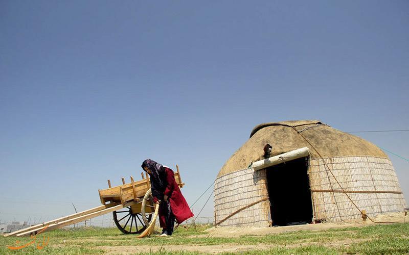آغاج اوی، خانه های سنتی فراموش شده ترکمن ها
