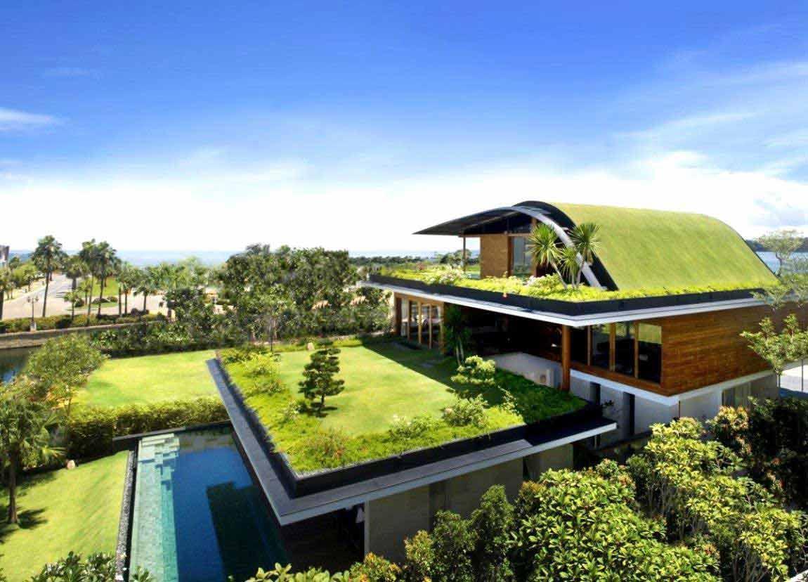 پشت بام سبز یا روف گاردن ، تجربه زندگی متفاوت