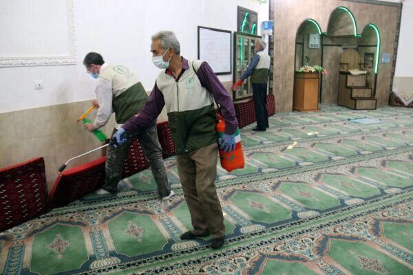 ادامه تعطیلی مساجد و اماکن مذهبی در کردستان