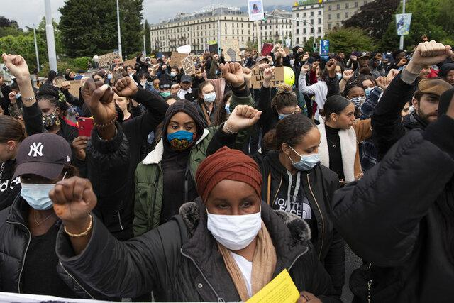 اعتراضات ضد نژادپرستی در ژنو