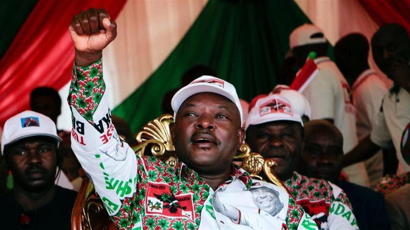مرگ رئیس جمهوری بوروندی در 55 سالگی ، حمله قلبی یا کرونا؟