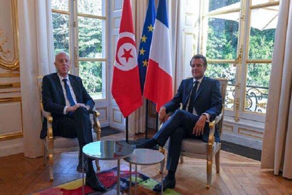 واکاوی سفر رئیس جمهور تونس به فرانسه؛راز پیغام سعید به اردوغان