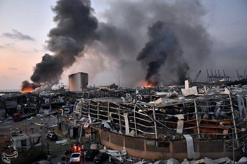 وزارت بهداشت لبنان: شمار کشته های انفجار بیروت به 158 تن افزایش یافت