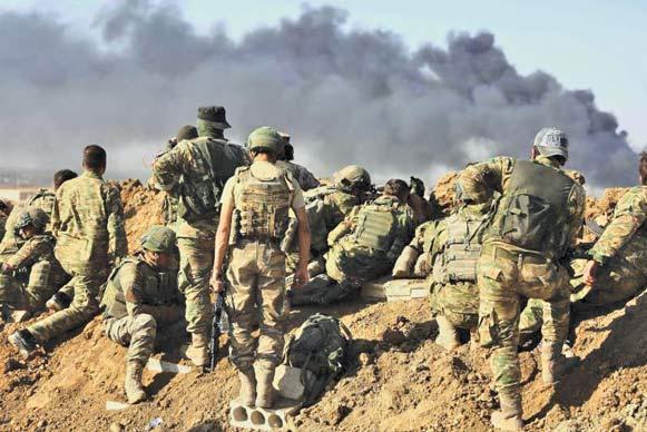 موضع شدیداللحن عراق، سکوت ترکیه