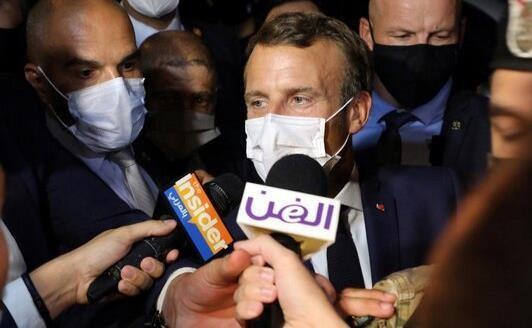 ماکرون مقامات لبنان را تهدید کرد
