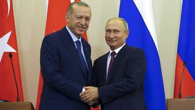 قره باغ، سوریه و لیبی محور گفتگوی تلفنی پوتین و اردوغان