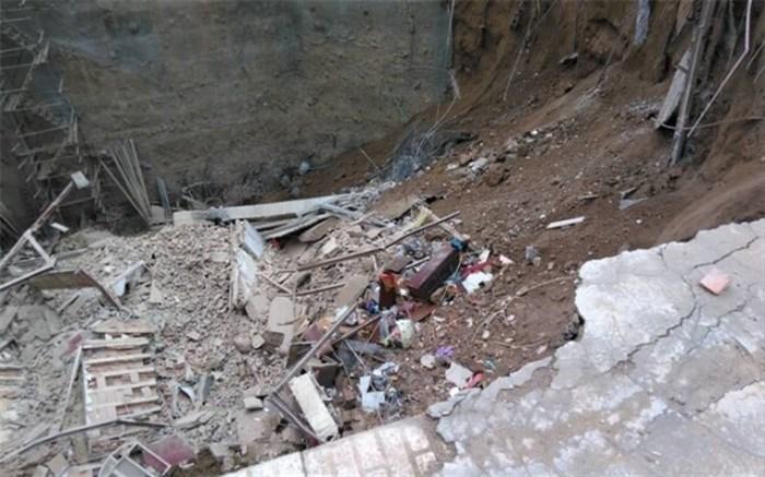 2 حادثه ریزش ساختمان در بامداد امروز
