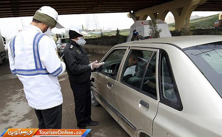 جریمه در انتظار رانندگان متخلف کرونایی
