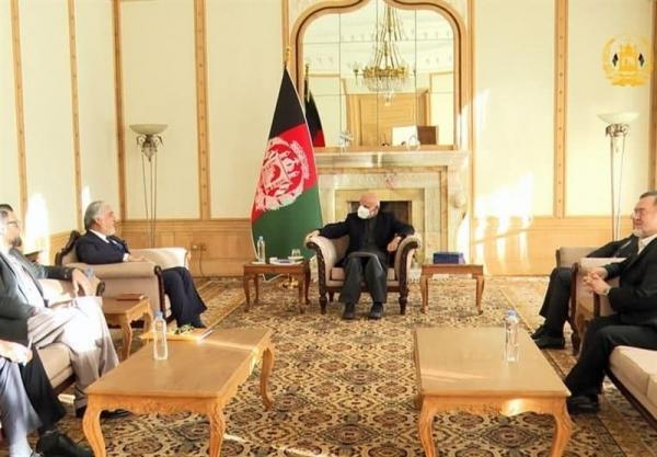 کاهش خشونت و فرایند صلح محور ملاقات اشرف غنی و عبدالله