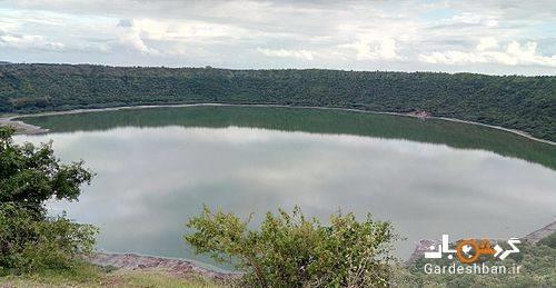 دریاچه لونار هند؛دریاچه رنگی و خارق العاده ، عکس