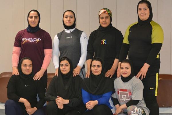 خبرنگاران اردوی تیم ملی وزنه برداری زنان شروع شد