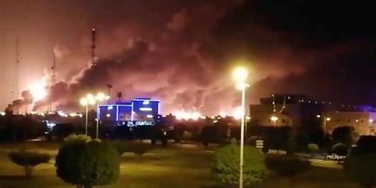 ریاض: سایت فرآورده های نفتی استان جیزان هدف حمله پهپادی قرار گرفته است