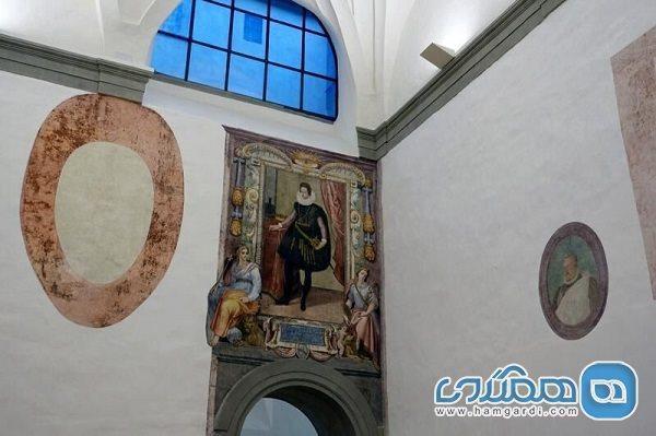 اعلام کشف دیوار نقش های گمشده در گالری اوفیتزی