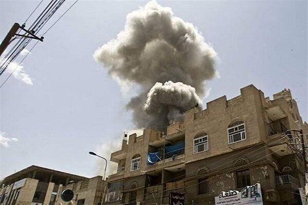 تداوم حملات هوایی ائتلاف سعودی به یمن