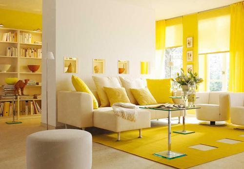 تاثیرات رنگ زرد در دکوراسیون داخلی