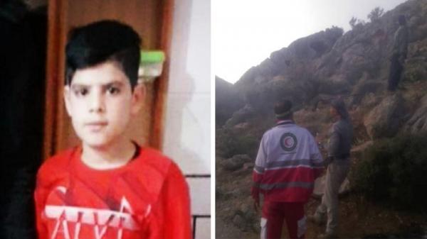پیکر نوجوان مفقود شده اصفهانی در کوه های شمس آباد پیدا شد
