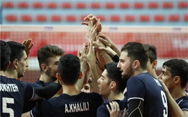 والیبال جوانان ایران صدرنشینی آسیا را پس گرفت